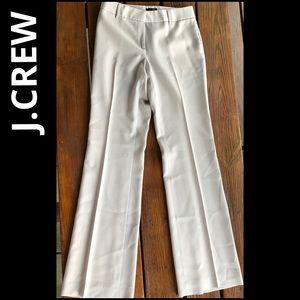 J.CREW career wear trousers pants light tan 4
